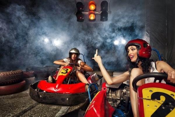 Kartfahren zum JGA