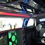 Schwarze Chrysler Limousine - Innenausstattung