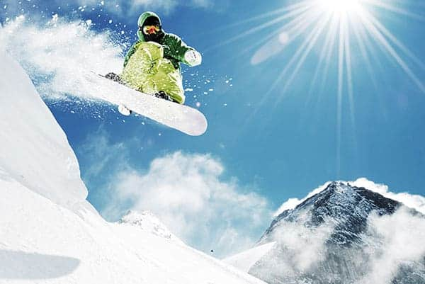 Ski & Snowboarding zum JGA